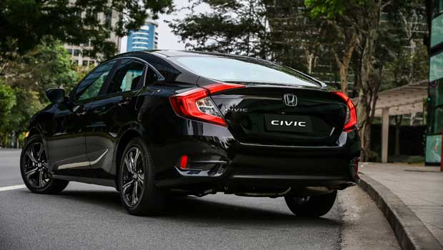 Honda Civic Sport manual parte de R$ 87.900 (CVT: R$ 94.900)
