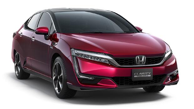 O Honda Clarity é movido a célula de hidrogênio