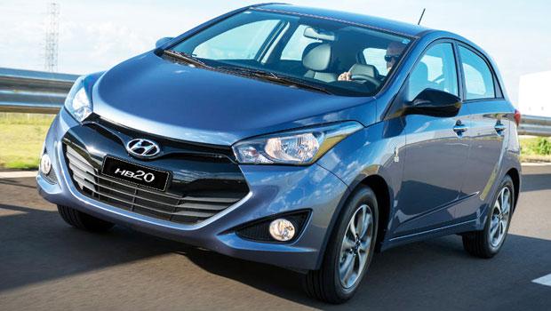 Hyundai HB20 tentou, mas terá que se contentar com a segunda posição