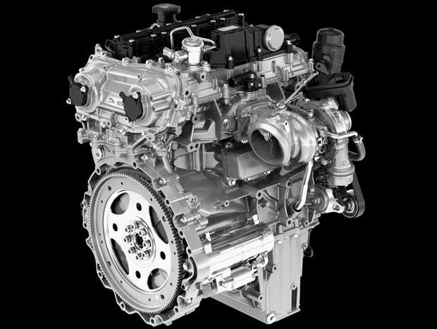Novo motor Ingenium 2.0 turbo de quatro cilindros a gasolina