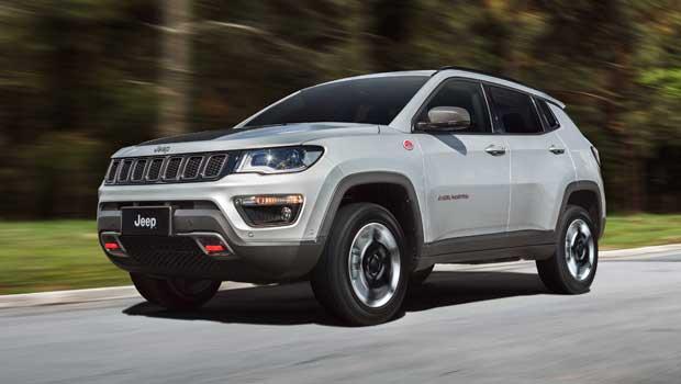 Jeep Compass Trailhawk parte de R$ 149.990