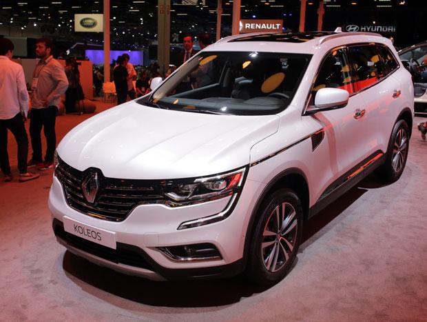 Koleos, o SUV de prestígio da Renault, é importado