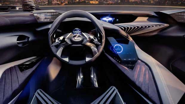 Interior do conceito UX da Lexus conta com tecnologia de hologramas