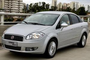 Fiat Linea, já aposentado