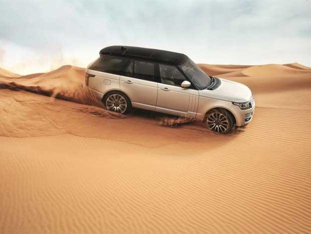 Range Rover Vogue é o primeiro colocado no estudo da J.D. Power