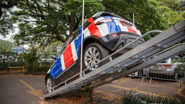 Land Rover quer mostrar capacidade off-road dos seus carros