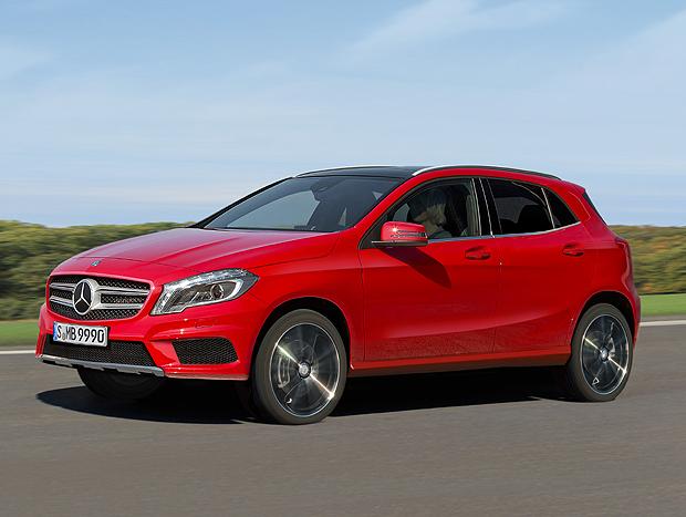 O GLA será o utilitário esportivo mais acessível da Mercedes-Benz