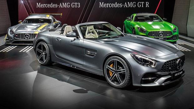 Trinca de ouro da Mercedes-AMG: GT 3, GT R e o novato GT C Roadster