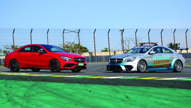 Safety-car do Mercedes-Benz Challenge é igual aos modelos que competem na prova