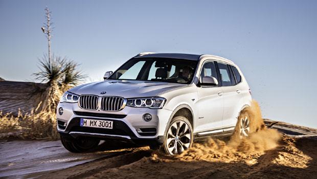 O X3 será o primeiro SUV elétrico da BMW