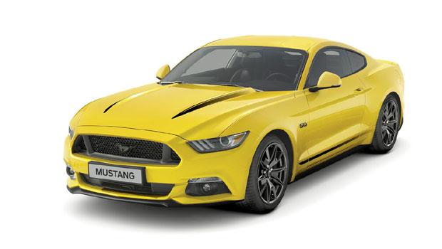 Mustang Black Shadow Edition