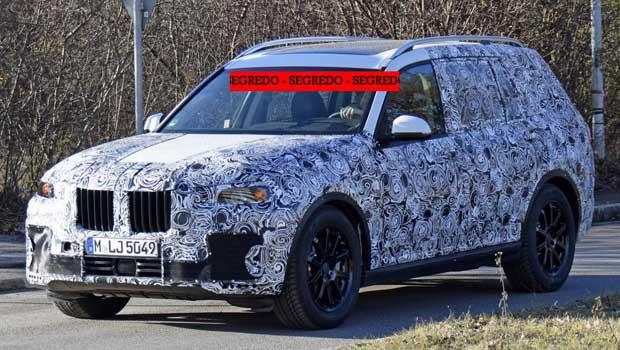 BMW X7 será mostrado apenas em 2018