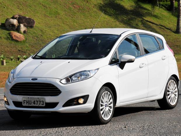 O Ford New Fiesta é uma opção interessante e tem no visual o seu principal atrativo