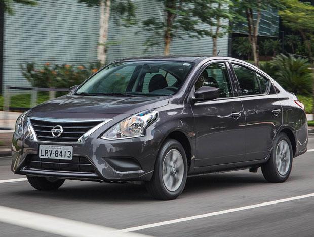 O sedã compacto da Nissan começou a ser fabricado no Brasil em abril de 2015