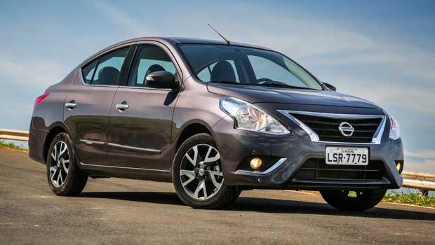 Nissan Versa SV** 1.6 custa R$ 54.040