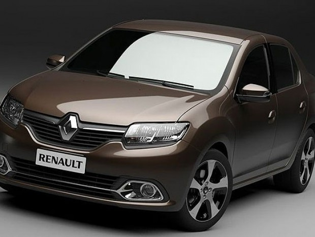 Renault Logan renovado foi um dos destaques da mostra argentina