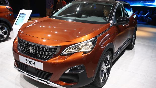 Novo Peugeot 3008 ganhou dianteira inspirada no 308 europeu