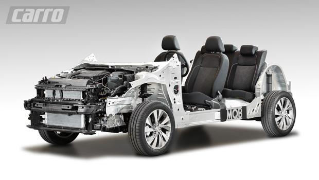 Arquitetura do novo Polo é baseada na nova plataforma MQB da Volkswagen, que dará origem a outros modelos