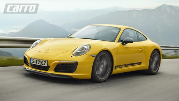 Porsche 911 Carrera T foi pensado para puristas fãs da marca