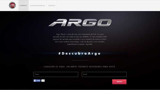 Site dedicado ao Argo já está no ar