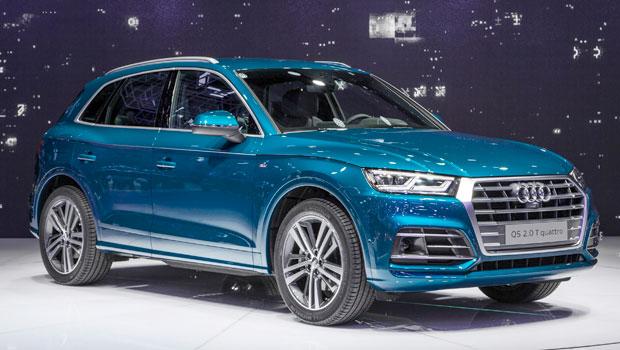 Novo Audi Q5 durante apresentação no Salão de Paris