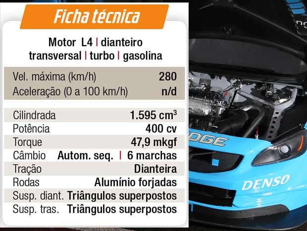 Ficha técnica do S60 de competição traz motor 1.6 turbo de 400 cv