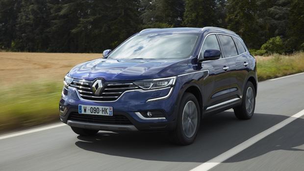 Renault Koleos exibe frente robusta com toque de modernidade