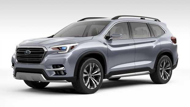 Ascent é aposta da Subaru para segmento de SUVs de 7 lugares