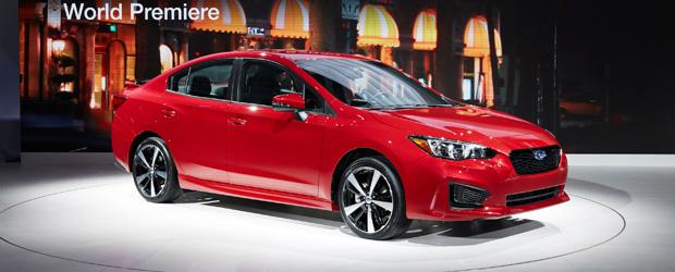 Subaru Impreza chega em sua quinta geração em Nova York