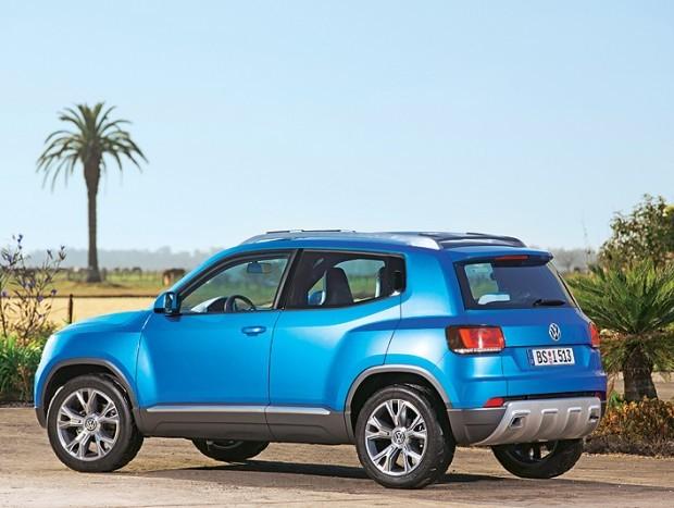 No Brasil o Up vai rivalizar com Ford EcoSport, Chevrolet Tracker e Peugeot 2008