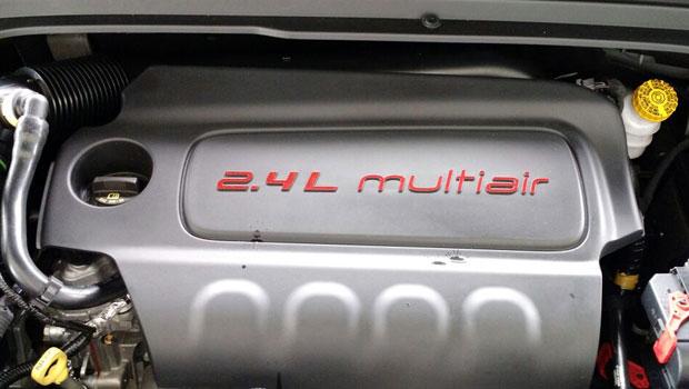 Motor 2.4 Tigershark usa cabeçote com tecnologia Multiair