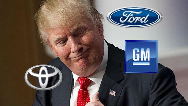 Trump, presidente eleito: brigar com montadoras parece diverti-lo