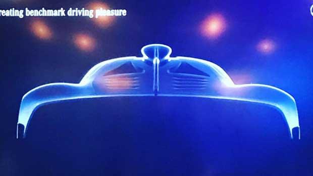 Teaser revela novos detalhes do hiperesportivo da AMG