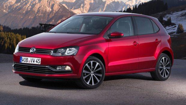 O Volkswagen Polo europeu aparece na sétima posição