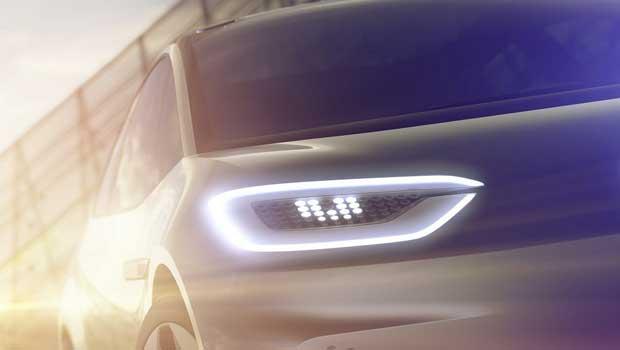 Volkswagen liberou teaser de elétrico inédito da companhia