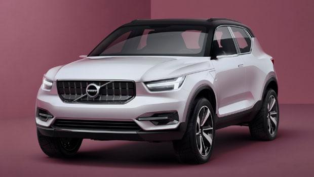Dianteira lembra os SUVs maiores da Volvo