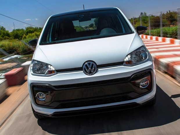 Volkswagen testa up! GTi na África do Sul