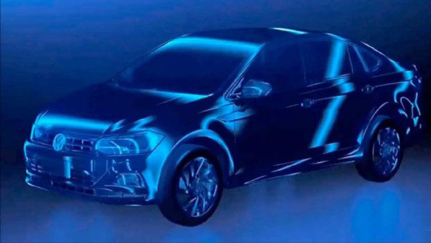 A Volkswagen não revelou quando o modelo entrará em produção