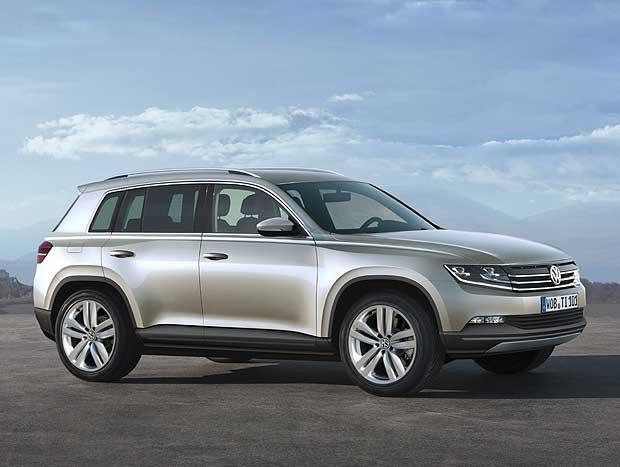 A nova geração do VW Tiguan deverá estrear no fim de 2014 na Europa