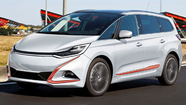 Esta minivan também será lançada pela WM Motor