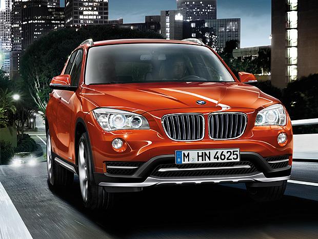 O BMW X1 é um dos modelos que serão produzidos em Araquari (SC)