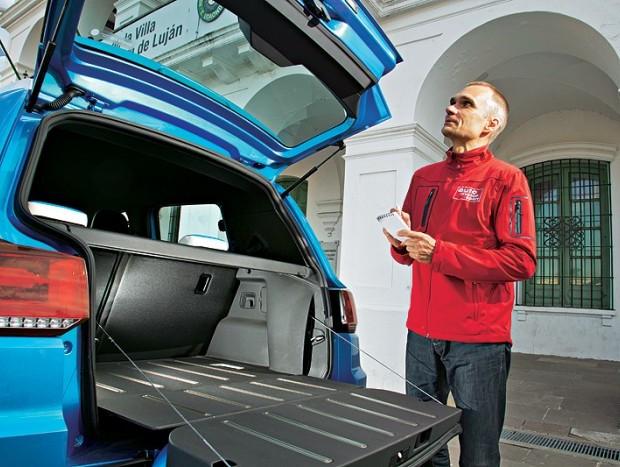 Porta-malas tem capacidade para 280 litros