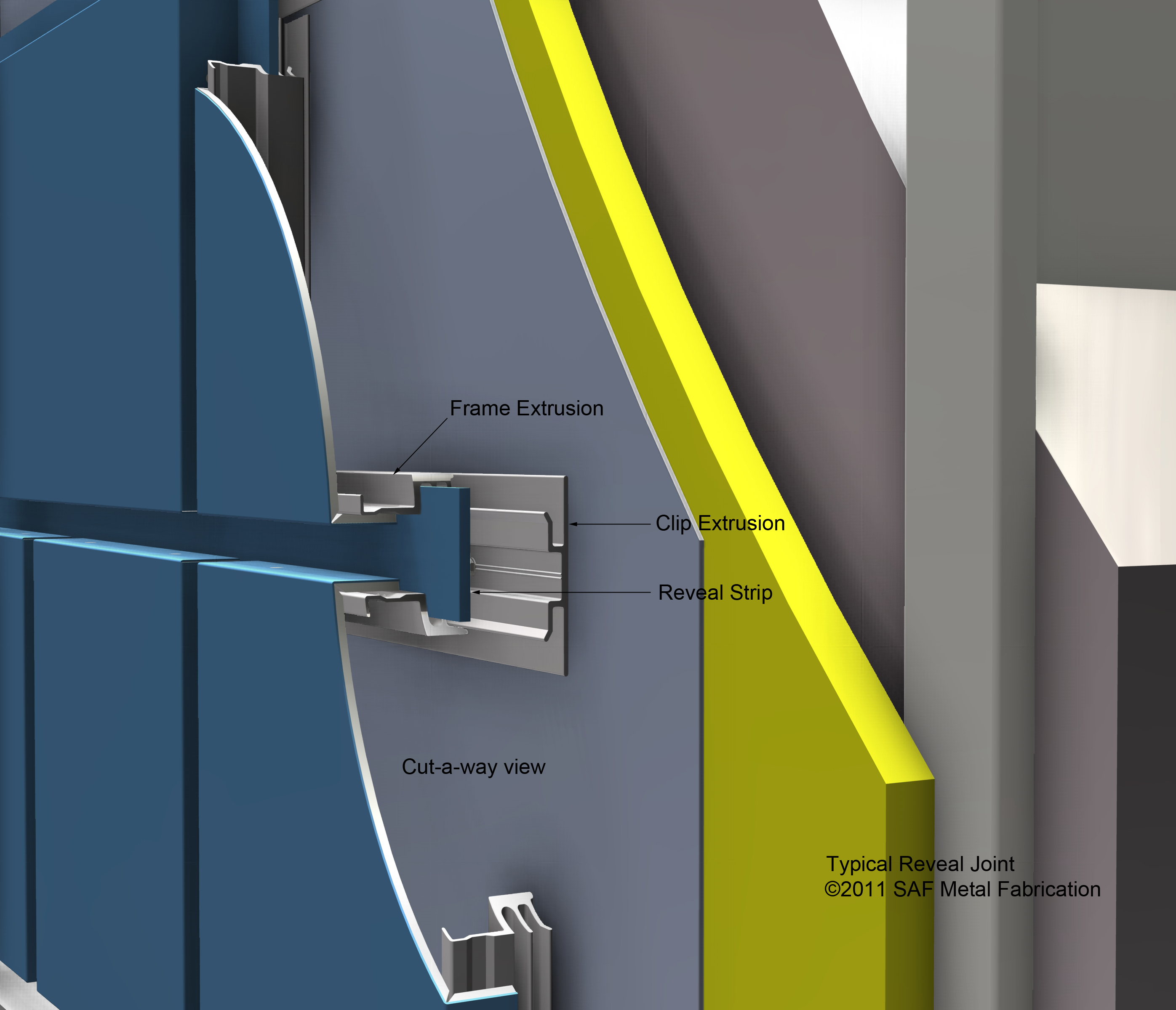 Series 4000 Wall Extrusion Reveal Saf Southern
