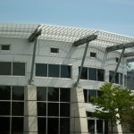 Tube & Angle Clear Anodized Extrusions for Aluminum Sunshade