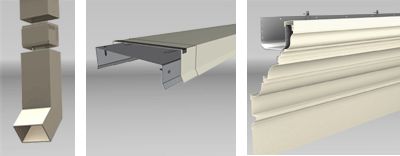 Perimeter Systems - Commercial Gutter Systems, Cornices & Cornice Mouldings, Press-Loc Gravel Stops & Copings