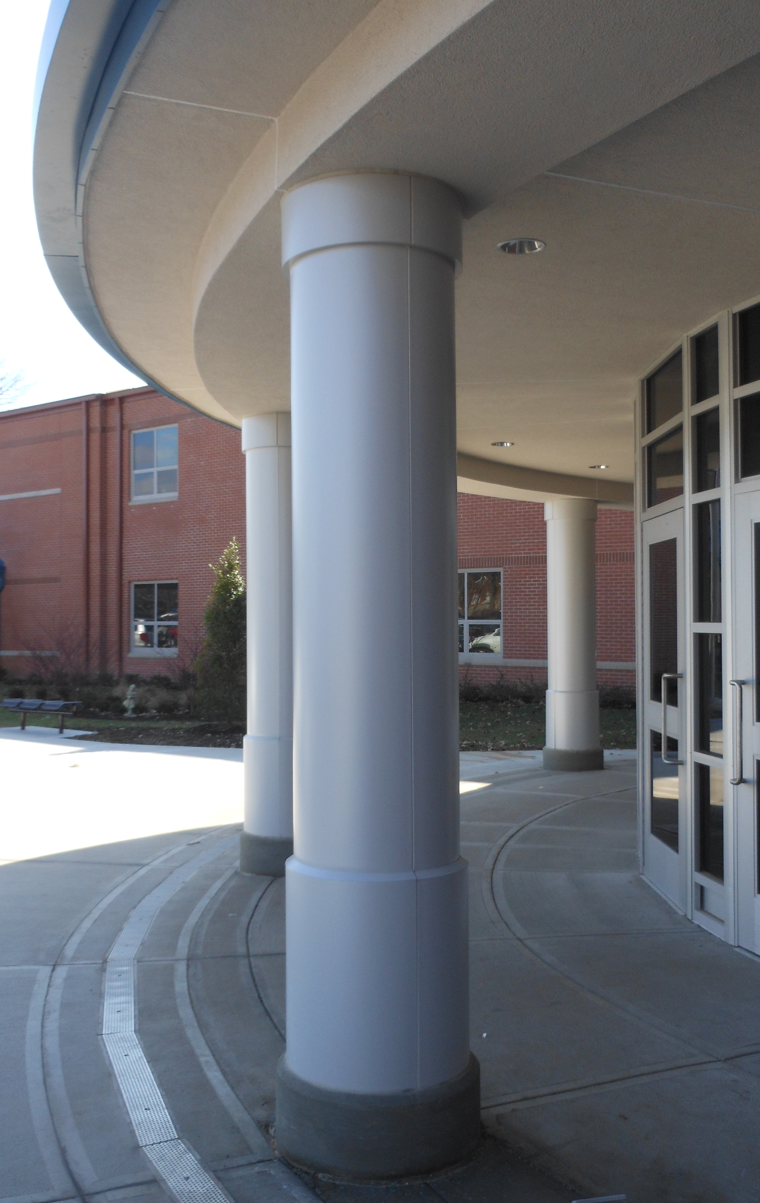 Clays Mill Elementary Column Cover Project Saf Southern