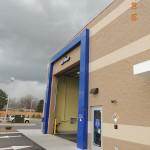 Rainscreen panel extrusions