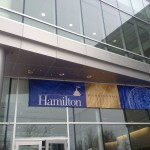 SAF Bronze anodized ACM - Hamilton College- Emerson Hall, Clinton NY