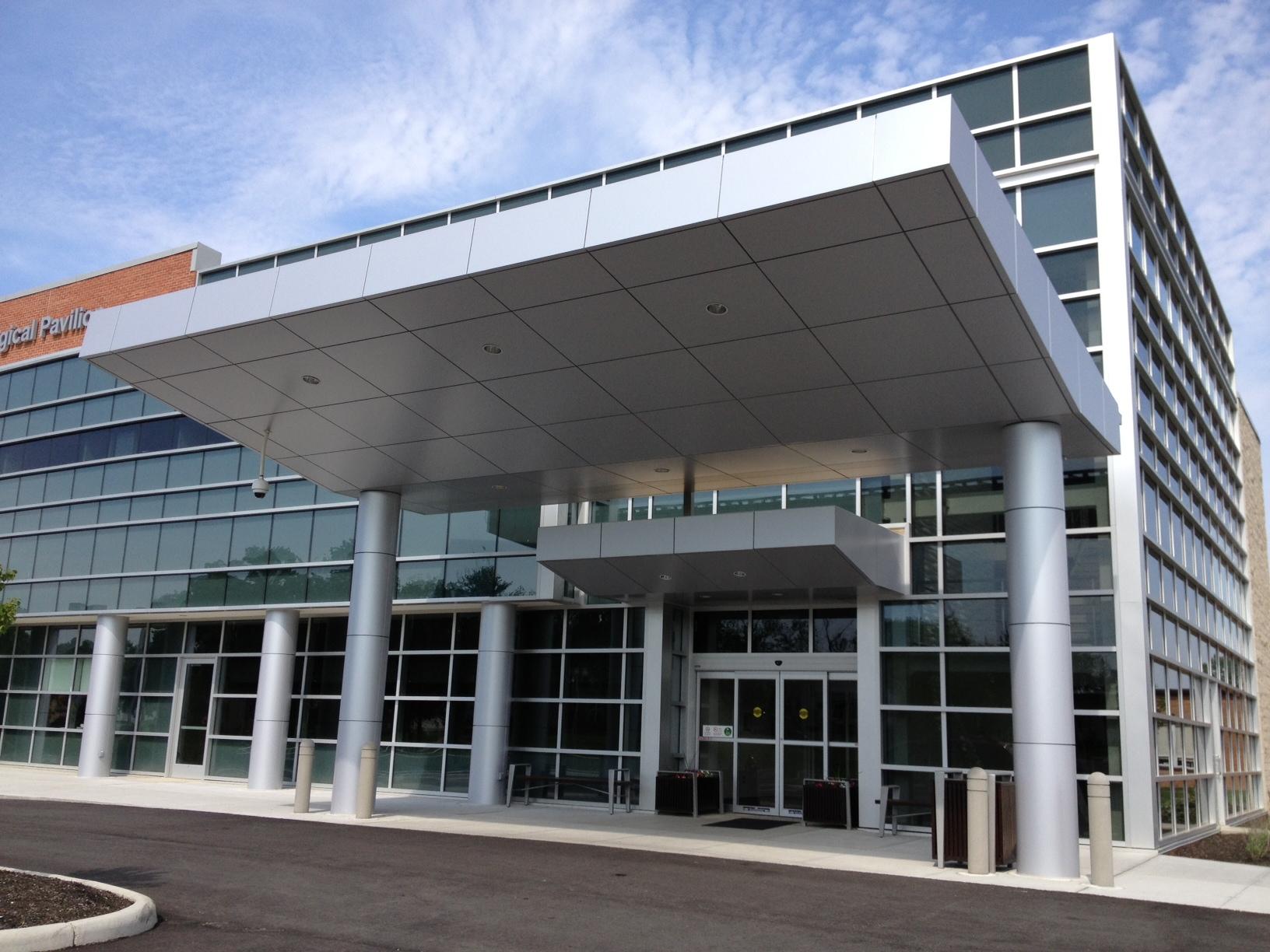Reynobond Panels & Rain Screen Panels Project: Memorial Hospital TN - SAF Atlanta ...