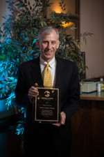 Jim_McClatchey, SAF Co-CEO accepts Business of the Year Award